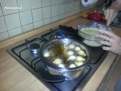 Preparazione delle castagnole
