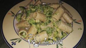 Mezze maniche broccoli e zucchine