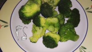 Mezze maniche broccoli e zucchine_cottura broccoli