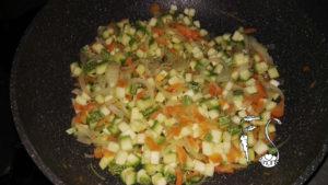 Torta salata senza glutine alle verdure_zucchine e carote