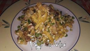 Passatelli ricotta pancetta e zucchine