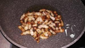 Passatelli ricotta pancetta e zucchine_bruciatini