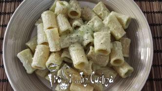 Mezze maniche con crema di asparagi