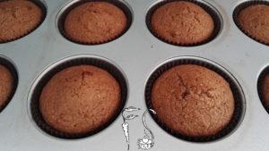 Muffin vegani al pistacchio