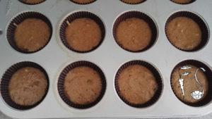 Muffin vegani al pistacchio_preparazione